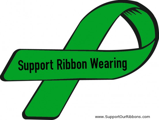 Support Ribbon wearing!